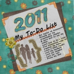 2011 To-Do List