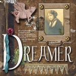 Speed Scrap Challenge 2/25/11: Dreamer