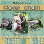 March Scrap Girls Club: Clover Chain