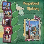 March Scrap Girls Club: Perpetual Motion