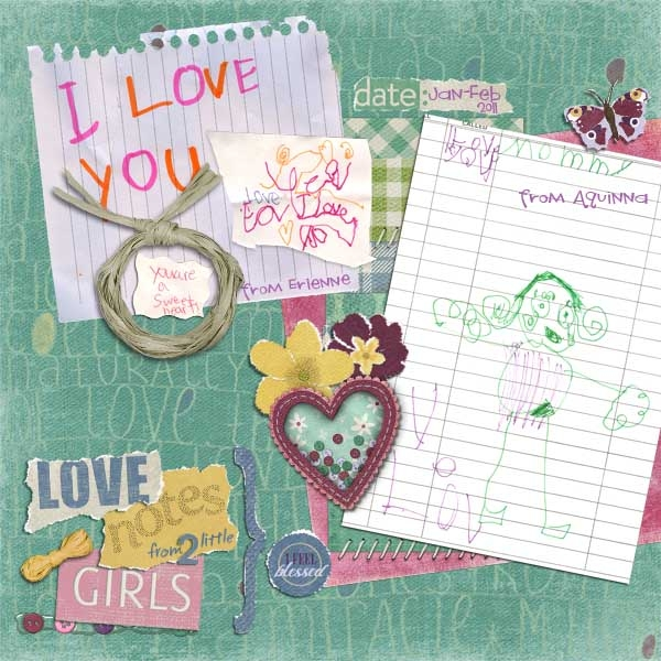 March Kit-Love Notes