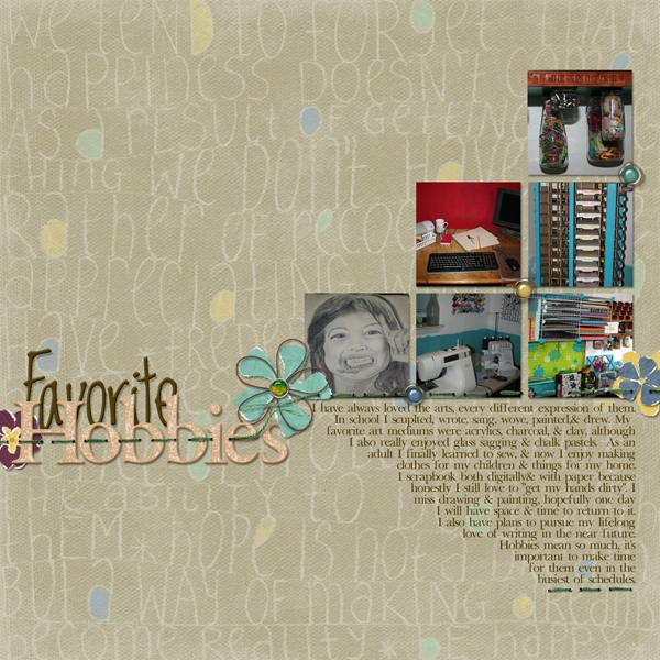 For Jenna - Hobbies