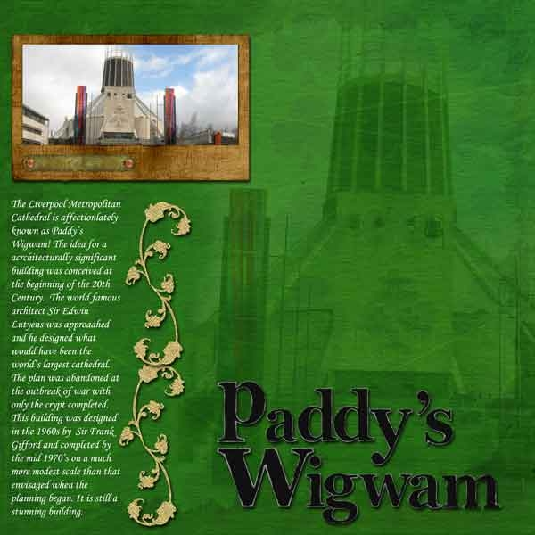 Thursday Green Challenge Paddy's Wigwam