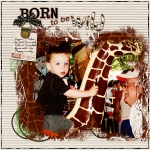 Born to be Wild_Sat Color Challenge