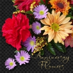 Friday Customer challenge - Anniversary flowers