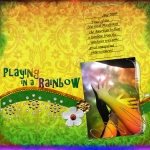Playing in a Rainbow - revised