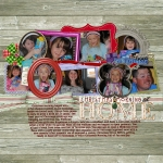 Mon Frame Challenge - Christmas 2010 