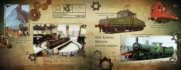 York Railway Museum, spread