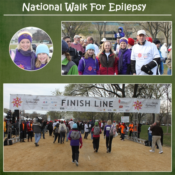 National Walk for Epilepsy in DC
