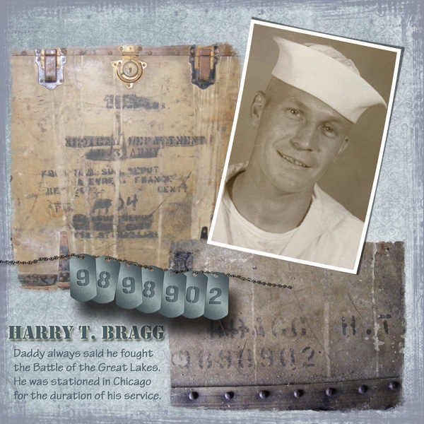 My Dad, Naval Hero