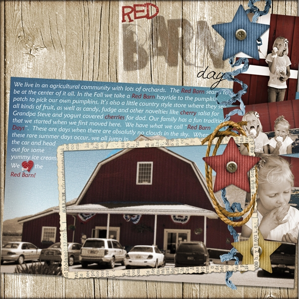 Thursday Challenge_RedBarnDay