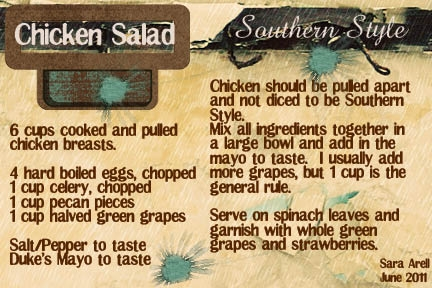 Chicken Salad - Southern Style