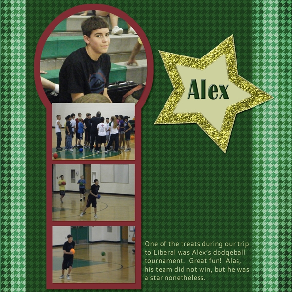 Alex's Dodgeball Game