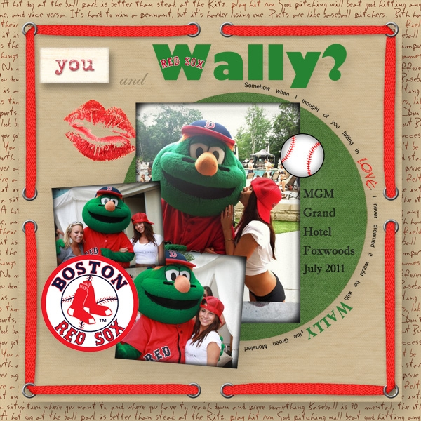 You and Wally?
