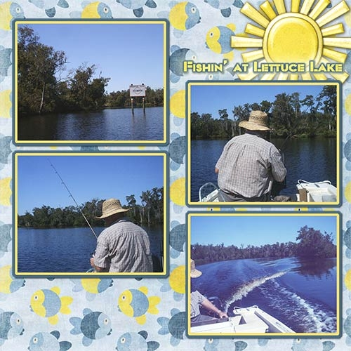Fishing on Lettuce Lake
