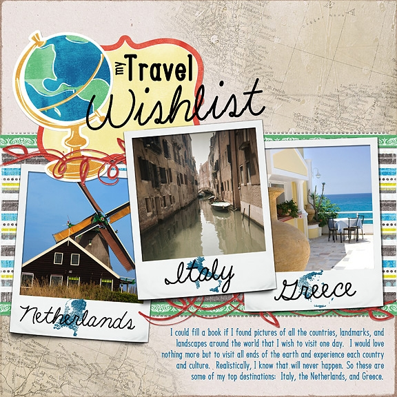 Fri.Challenge 9/9 - Travel Wishlist