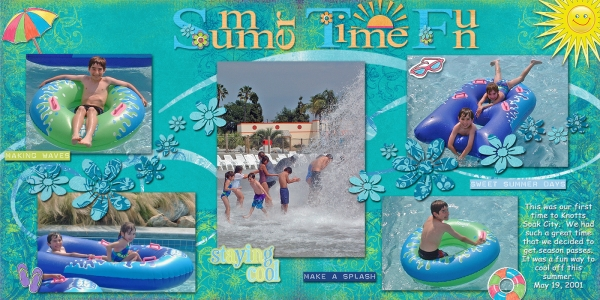 Soak City, Pages 3, 4