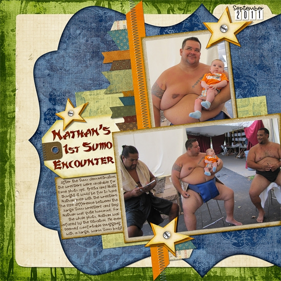 Nathan's Sumo Encounter