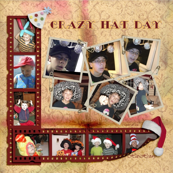 Crazy Hat Day (Monday-7 things/Tuesday Freebie/HNC SS)