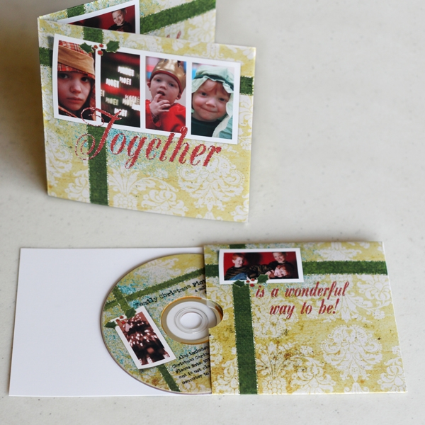 Christmas CD Card