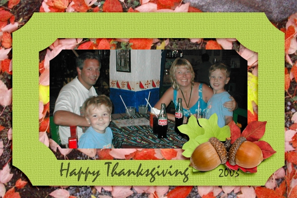 thanksgiving card (holiday card challenge)