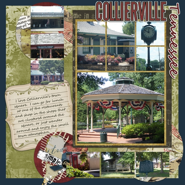 Nov. Layout Contest - Collierville - My Town