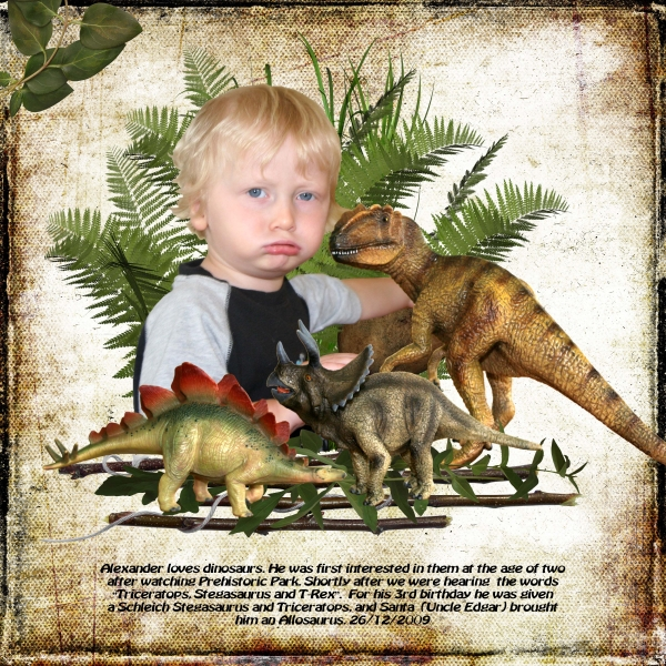 Our first Dinosaurs