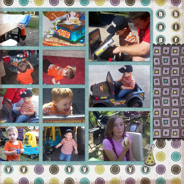 Tristan's 3rd birthday (page 2)