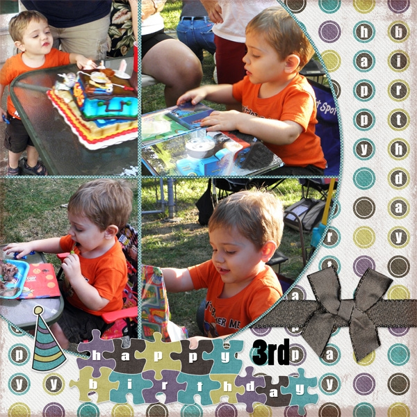 Tristan's 3rd birthday (page 1)