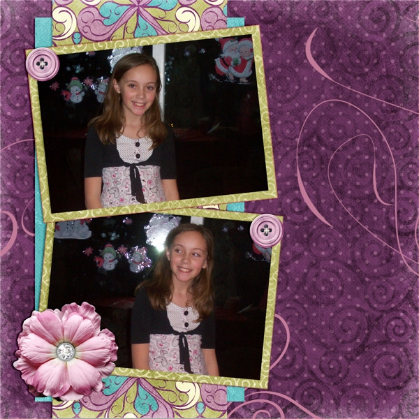 Alexis's 11th birthday page 1