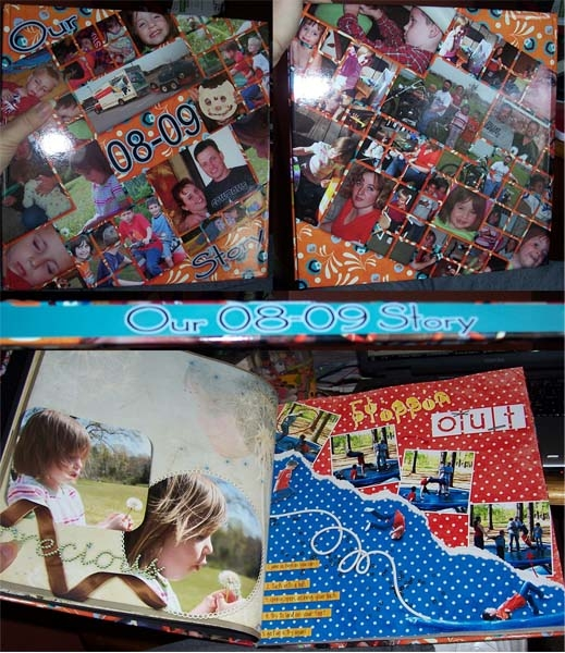 My 08-09 photo book from Paper Kiwi