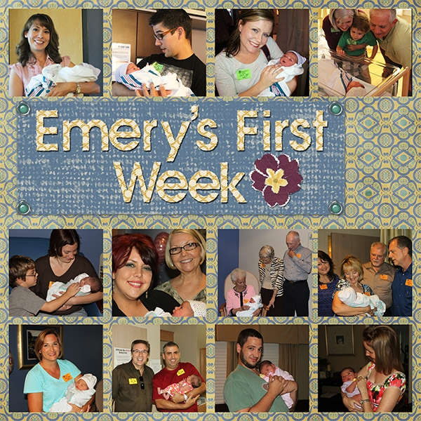 Emery's First Week left