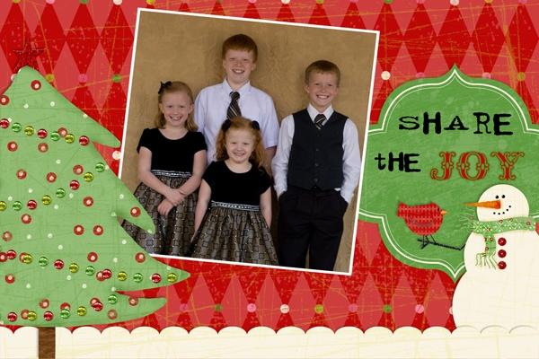 Christmas eCard (from tutorial 12/19)