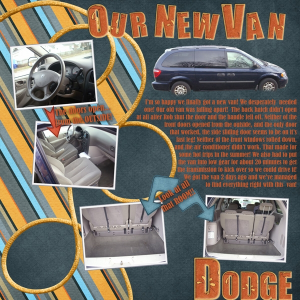 Our New van - Page 1