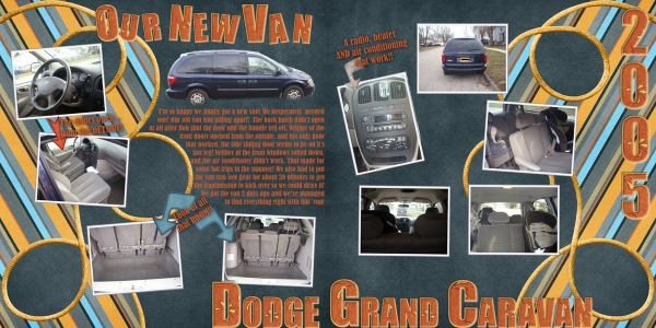 Our New Van - Full Layout