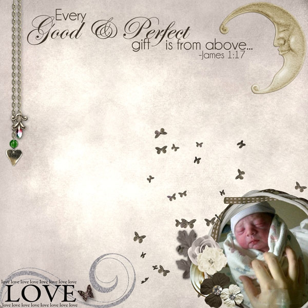 Every good and perfect gift...