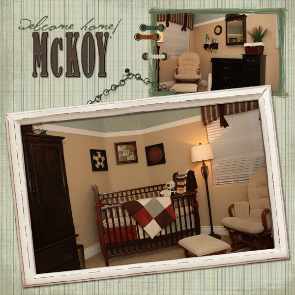 Welcome Home McKoy!