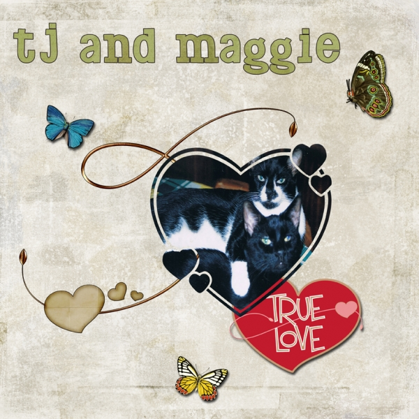 Tuesday 2-28-12 Freebie Challenge -- TJ and Maggie