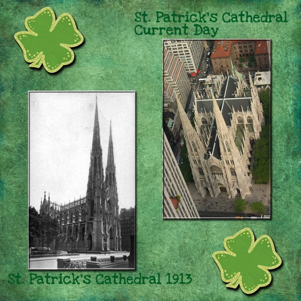Saturday 3-17-12 Color Challenge -- St. Patrick's Cathedral
