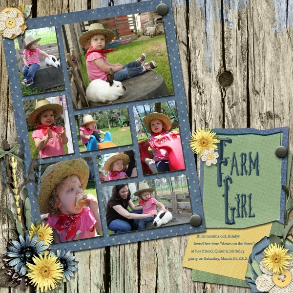Adalyn on the Farm