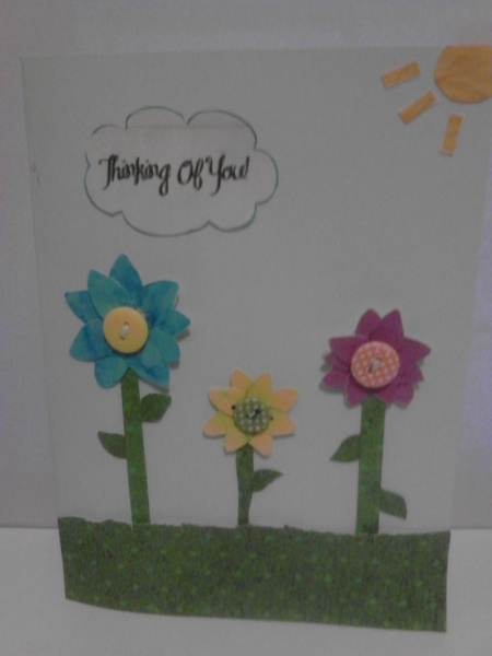 Thinking of You Card #1 for Karen