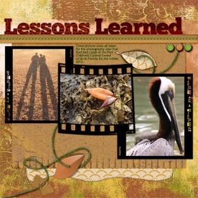 Lessons Learned Wk 3