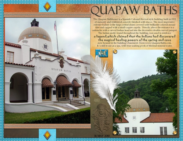 March Game 1 - Quapaw Baths