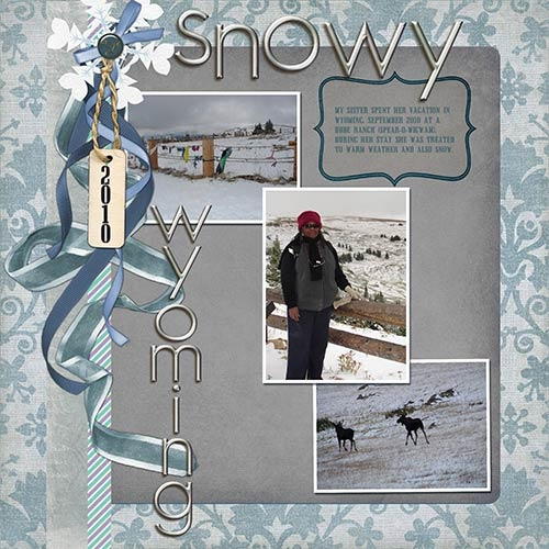 Snowy Wyoming - Week 2