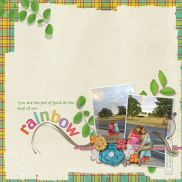 Tuesday Freebie Challenge 4-10-12 -- Our Pot of Gold