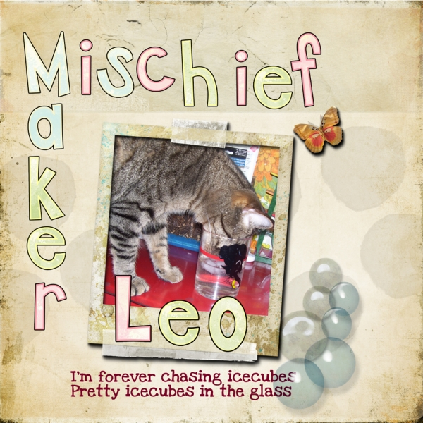 Mischief Maker Quote -- Leo