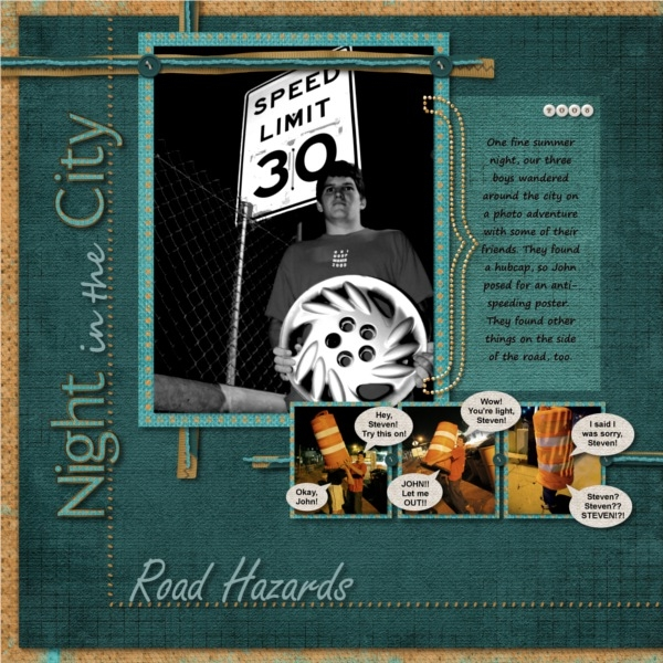 Night in the City - Road Hazards