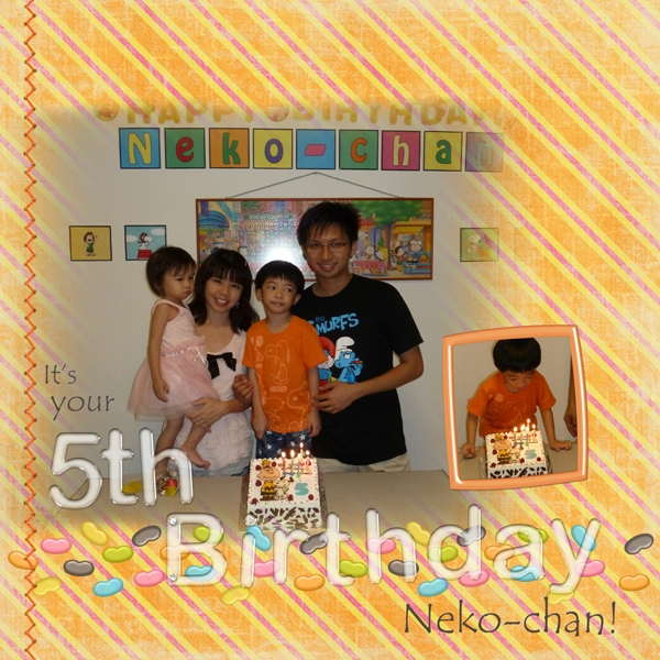 It's Your 5th Birthday Neko-chan!