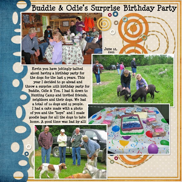 Buddie & Odie's 12th Birthday Party Surprise