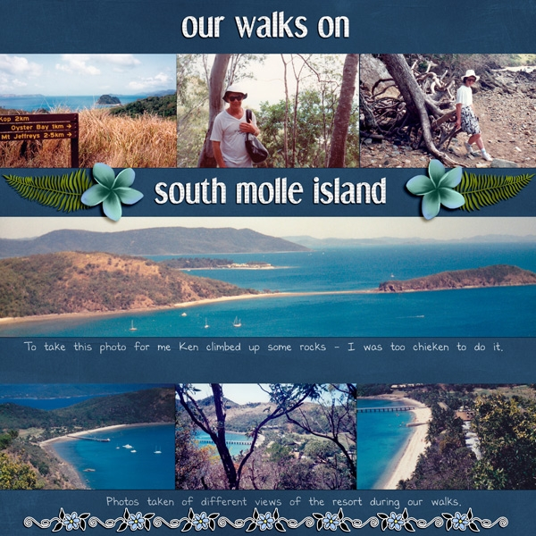 Our Walks on South Molle Island
